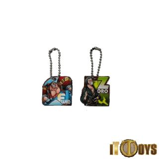 One Piece Keychains (2pcs Set)