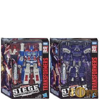 Transformers SEIGE War for Cybertron Ultra Magnus & Shockwave