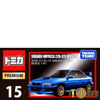 Tomica Premium [015] Subaru Impreza 22B STI Version