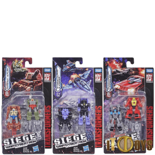 Transformers SEIGE War for Cybertron Micromaster (Set of 3pcs)