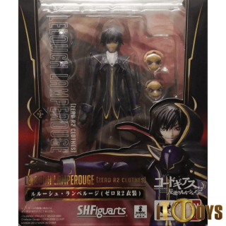 S.H.Figuarts  Code Geass: Lelouch of the Rebellion R2  Lelouch Lamperouge