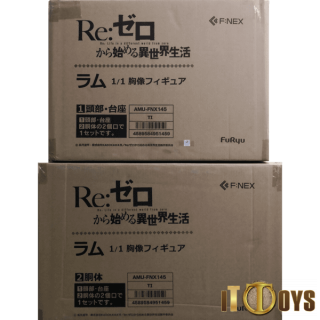 1/1 Scale PVC  Re:ZERO -Starting Life in Another World-  Ram Bust Figure