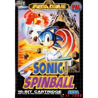 Sega Mega Drive - Sonic Spinball
