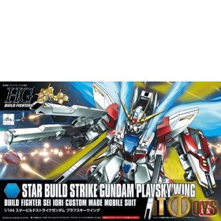 HGBF 1/144 Scale [009] Gundam Build Fighters Star Build Strike Gundam Plavsky Wing