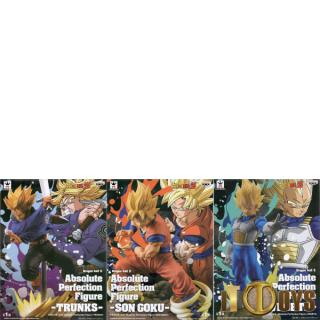 Prize Figure Dragon Ball Z Absolute Perfection Trunks, Son Goku, Vegeta