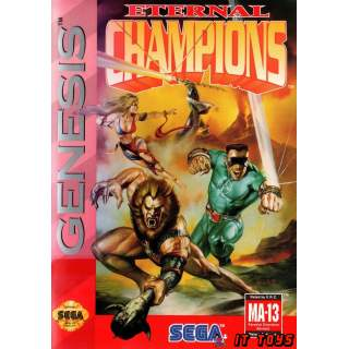 Sega Mega Drive - Eternal Champions