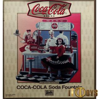 Barbie Doll Coca-Cola Soda Fountain