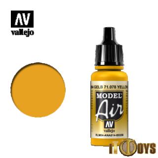 71.078 Vallejo Model Air (17ml) Yellow RLM04
