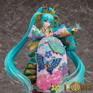 1/7 Scale Vocaloid Hatsune Miku Chokabuki Kuruwa Kotoba Awase Kagami Ver.