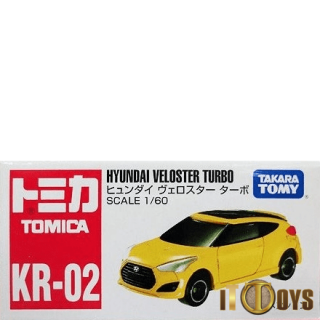 Tomica [KR-02] Hyundai Veloster Turbo