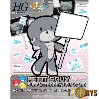 HGPG 1/144 Scale Petit'g Guy [016] Surfacergrey & Placard