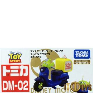 Tomica [DM-02] Disney Motors  Chim Chim Alien