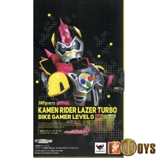 S.H.Figuarts Masked Rider EX-AID Kamen Rider Lazer Turbo Bike Gamer Level 0