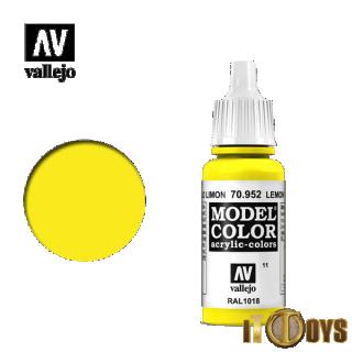 [011] 70.952 Vallejo Model Color (17ml) Lemon Yellow