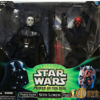 Star Wars Power of the Jedi Darth Vader & Darth Maul