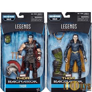 Marvel Legend Series Ragnarok Thor & Loki