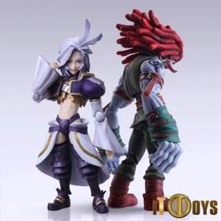 BRING ARTS  Final Fantasy IX  Kuja & Amarant Coral