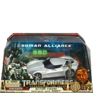 Transformers  Human Alliance  Sideswipe