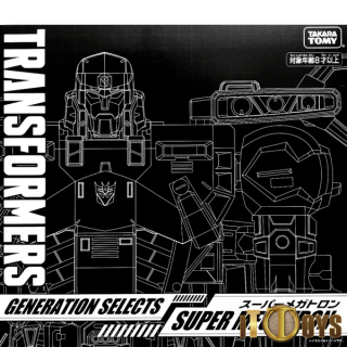 Transformers  Generations Selects Super Megatron