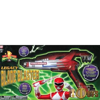 Power Rangers Legacy Mighty Morphin Blade Blaster