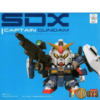 Gundam SDX Captain Gundam