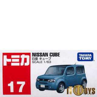 Tomica [017] Nissan Cube