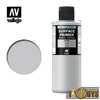 Vallejo Surface Primer (200ml)  74.601  Surface Primer (Grey)