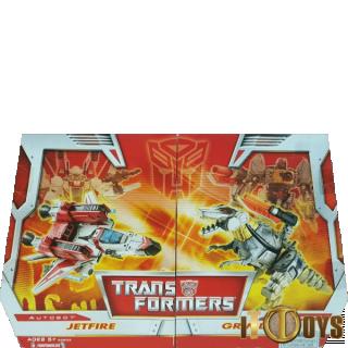 Transformers Classic  Jetfire & Grimlock