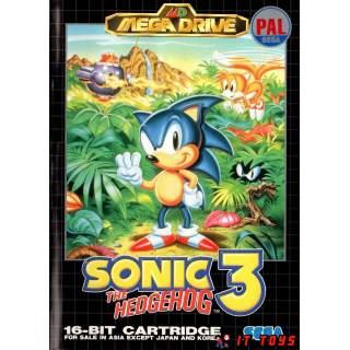 Sega Mega Drive - Sonic 3