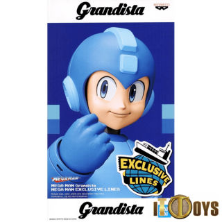 Grandista Rock Man  Mega Man Exclusive Lines
