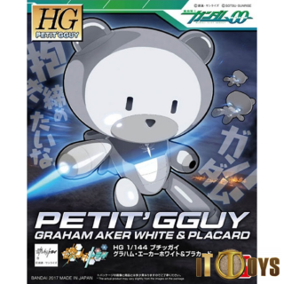 HGPG 1/144 Petit'g Guy Graham Aker White & Placard