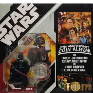Star Wars  30th Anniversary Coin Album  Darth Vader
