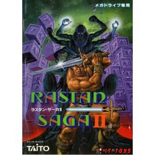 Sega Mega Drive - Rastan Saga II
