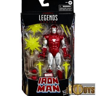 Marvel Legend Series  Silver Centurion Iron Man
