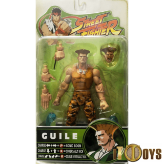 Street Fighter  Round 3 Guile -Yellow Variant-