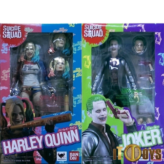 S.H.Figuarts  DC Comics  Harley Quinn & Joker (Suicide Squad)