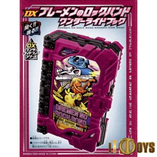 DX Masked Rider  Kamen Rider Saber  Bremen No Rock Band Wonder Ride Book