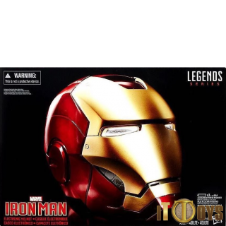 1/1 Scale Marvel Legends Iron Man Helmet