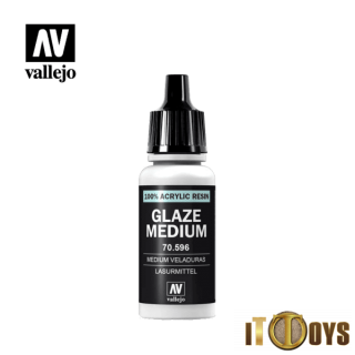 Vallejo 100% Acrylic Resin (17ml)  70.596  Glaze Medium