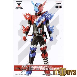 Prize Figure Kamen Rider Build Masked Rider Rabbit Tank Sparkling Form