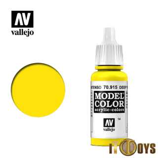 [014] 70.915 Vallejo Model Color (17ml) Deep Yellow