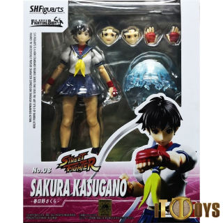 S.H.Figuarts  Street Fighter V  Kasugano Sakura
