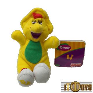 Plush Toys Barney  B.J Hook Keychain