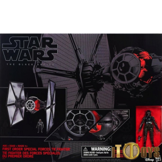 Star Wars Black Series 6 Scale First Order Special Forces TIE Fighter