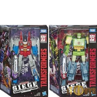 Transformers  SEIGE War for Cybertron  Starscream & Springer