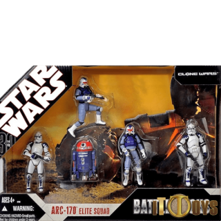 Star Wars Battle Packs ARC-170 Elite Squad