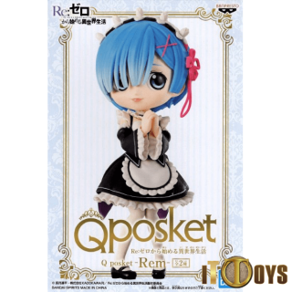 Qposket Re:Zero Life Is a Different World From Zero Rem (Black)