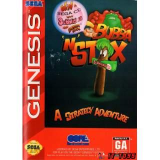 Sega Mega Drive - Bubba 'N' Stix