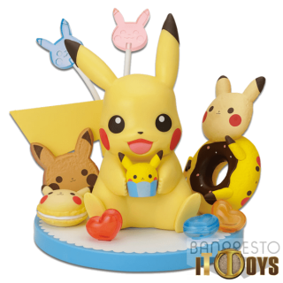 Prize Figure  Pokémon Pokémon Tea Party Pikachu Figure  Pikachu's Sweets Collection