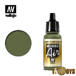 71.006 Vallejo Model Air (17ml) Light Green Chrom
